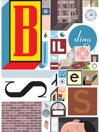 "Bedste internationale tegneserie:  Chris Ware ""Building Stories"""