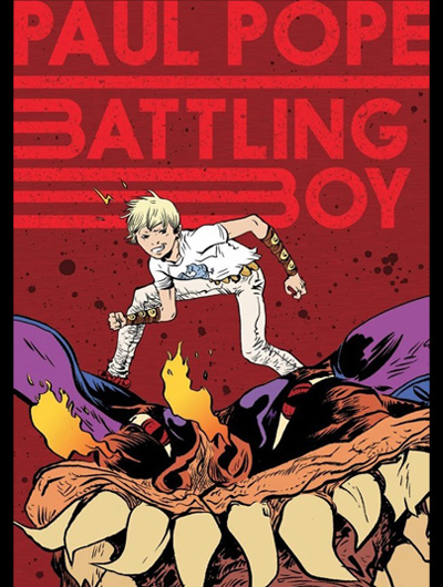 "PAUL POPE: ""BATTLING BOY"""