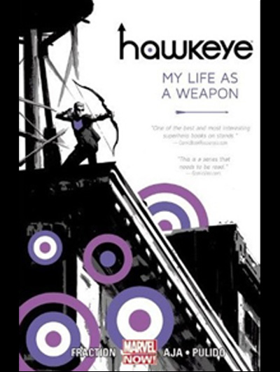 "MATT FRACTION & DAVID AJA: ""HAWKEYE 1-2"""