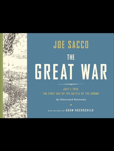 "Bedste Internationale tegneserie: Joe Sacco ""The Great War"""