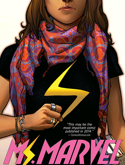 "G. WILLOW WILSON / ADRIAN ALPHONA: ""MS. MARVEL VOL. 1: NO NORMAL"""
