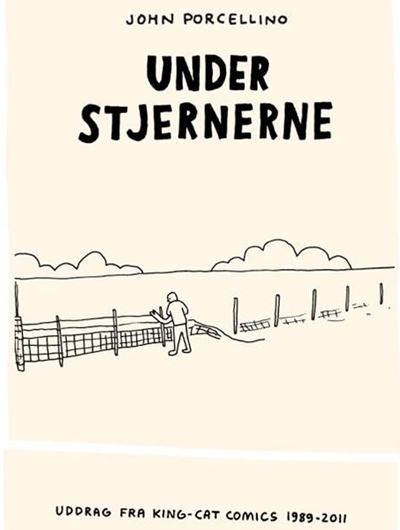 "JOHN PORCELLINO: ""UNDER STJERNERNE"""