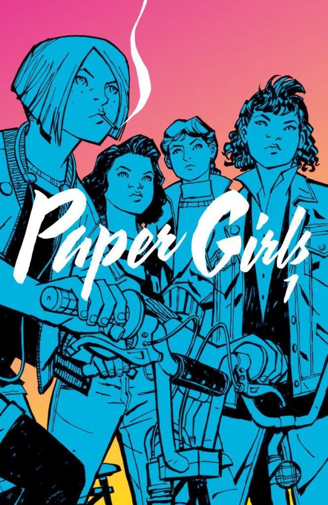 "BRIAN K. VAUGHAN/CLIFF CHIANG/MATT WILSON: ""PAPER GIRLS VOL. 1"""