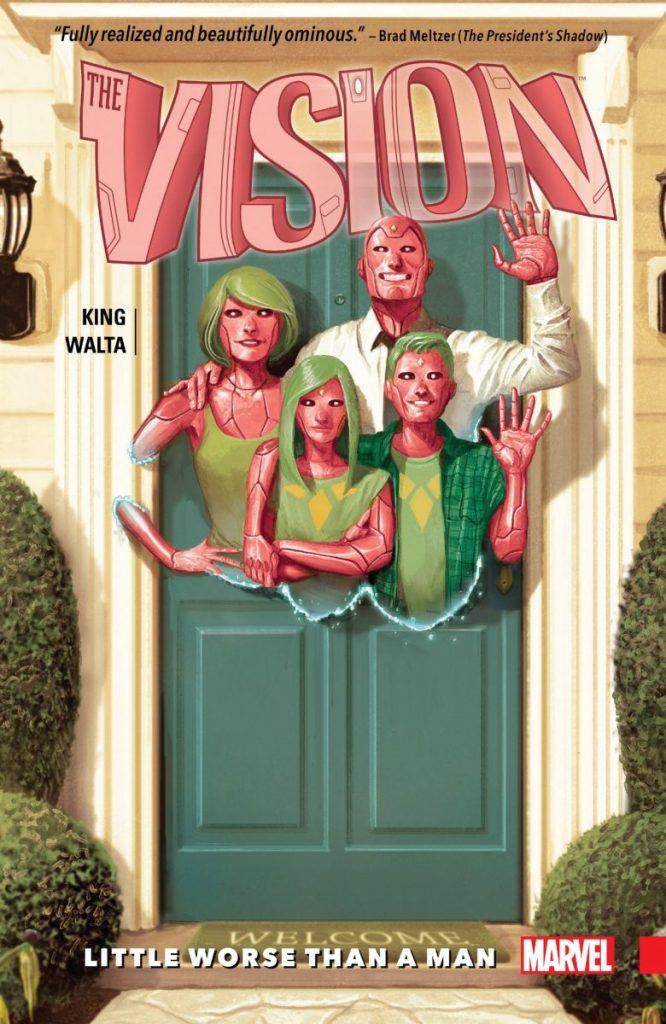 "TOM KING/GABRIEL HERNANDEZ WALTA/JORDIE BELLAIRE: ""THE VISION VOL. 1: LITTLE WORSE THAN A MAN"""