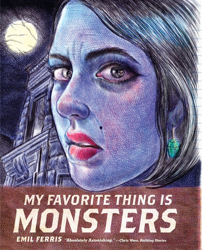 """My Favorite Thing is Monsters"" af Emil Ferris"